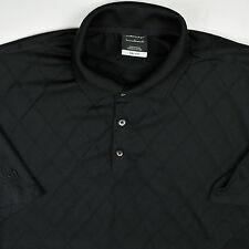 Nike Dri-Fit Short Sleeve Polo Shirt Large Roush Honda Black Diamond