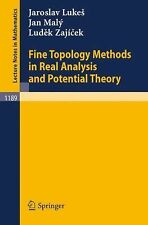 Fine Topology Methods in Real Analysis and Potential Theory (Lecture N-ExLibrary