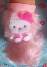 "New Hello Kitty baby doll pink fur boots Annabell Chou Alive Reborn 18"" 19"" ."