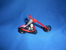 Red CHOPPER Z-Bar APE HANGER Cycle MOTORCYCLE Mini Toy Plastic Kinder Surprise