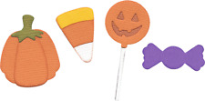 QuicKutz Lifestyle Crafts 4x4 Single Die CANDY Trick-or-Treat, Party ~REV-0240-S