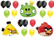 ANGRY BIRDS BIRTHDAY PARTY BALLOONS Decorations Supplies Rovio Pig Game Bomb