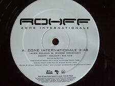 "EP 12"" ROHFF ZONE INTERNATIONALE PROMO ORISHAS NTM IAM BOOBA FABE FRENCH RAP EX"