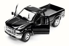 Ford Mighty F350 Super Duty Pick-up Black Maisto 31937 1/27 Scale Diecast Car