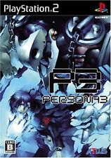 Used PS2 Persona 3 ATLUS   SONY PLAYSTATION JAPAN IMPORT