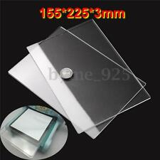 2x 155x225mm Generic  Acrylic Clear Cutting Plates Thick 3mm for Sizzix Big Shot