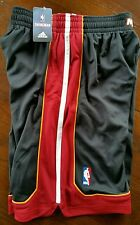 Mens NBA Miami Heat adidas swingman Black shorts Small Closeout Prices