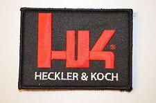 HECKLER &  KOCH HK LOGO PATCH HOOK/LOOP BACKING P7PSP P7M13 P30 USP VP9 VP40 P30