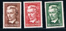 HungarySC848-850 Centenary of the Death of Sandor Petofi-Famous Poet (H) 1949