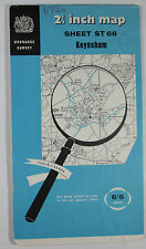 1961 old vintage OS Ordnance Survey 1:25000 First Series map ST 66 Keynsham