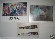 SIGNED RAY KASS PAINTINGS Exhibits Mountain Lake Workshop RAY KASS PAINTED SAWS