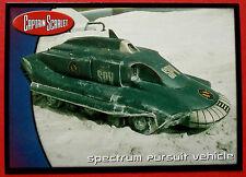 El capitán escarlata-tarjeta #68 - Spectrum Pursuit vehículo-Tarjetas inc. 2001