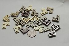 Lego Part 2420 Lot of 24 Plate Corner 2x2 Shades of Brown & Tan Item #190