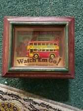 Shadows OF Yesterday Toys in the Cupboard Shadow Box Double Decker Bus London