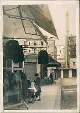 Les Puces à Paris, au Village suisse, près du Champ de Mars Vintage silver print