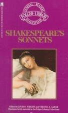 Shakespeare's Sonnets (Folger Library General Reader's Shakespeare) by Shakespea