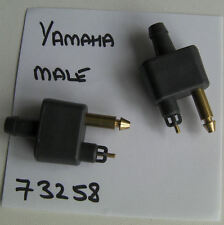 YAMAHA OUTBOARD MOTOR FUEL CONNECTOR, MALE,  HOSE TAIL, Our PATTERN Code 73258