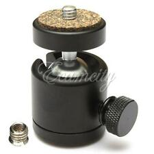 "360 Swivel Mini Ball Head 1/4"" Screw Mount for DSLR Camera Tripod Ballhead Stand"