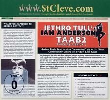 Thick As A Brick 2 (Special Edition) von Ian Anderson,Jethro Tull (2012), OVP