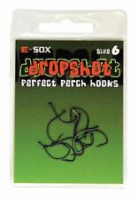 Drennan E-sox Dropshot Hooks size 6 Perfect For Perch Hooks