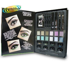 ULTIMATE Eye Make Up Kit Ciglia Shimmer Dust ombra Mascara Matita Occhi Set Regalo