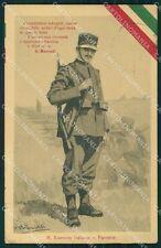 Militari Propaganda WWI Esercito Fanteria Marradi Moroni Celsi cartolina XF0516