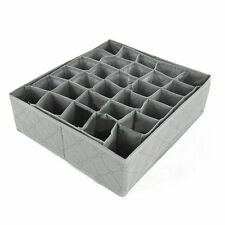 30 slots Storage box wardrobe organiser drawer organiser ties socks solution