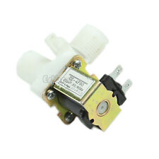 "Electric Solenoid Valve Magnetic N/C DC 24V Water Air Inlet Flow Switch 1/2"" Hot"