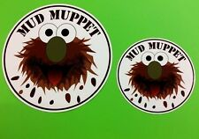 MUD MUPPET Quad Bike 4x4 Off Road Tractor Truck Van Sticker - 2 Sizes Available
