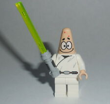 SPONGEBOB Lego Jedi Series Partick as Luke custom NEW Genuine Lego Parts #11pat