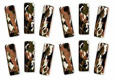 12 Camo Camouflage Foam Pencil Grips Occupational Therapy Special Needs Autism