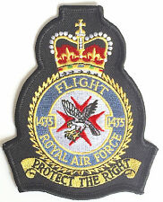 RAF Flight 1435 Royal Air Force Military Embroidered Patch MOD Approved