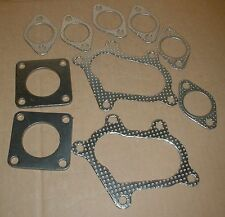 Maserati Biturbo EXHAUST MANIFOLD Turbo GASKET Set 2.8  AI140a