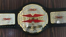 TNA X Division Championship Belt with free box