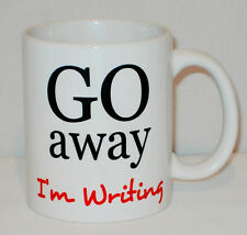 Go Away I'm Writing Mug Can Be Personalised Great Writer Author Student Gift Cup