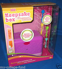 Radica Girl Tech Password Journal Keepsake Box NEW
