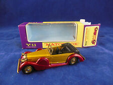 Matchbox Yesteryear Y11-3 1938 Lagonda Drophead Coupe gold Strawberry Issue 4*