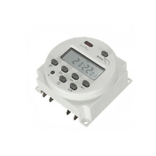 Automatic Panel Mount DC12 Volt Digital Power Programmable Timer Switch Relay