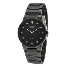 Citizen Axiom Black Dial Mens Watch AU1065-58G