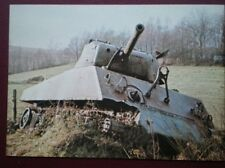 POSTCARD M4A3 SHERMAN TANK WITH 76 MM GUN