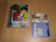 **+A Bandai Yu Yu Hakusho Carddass Memorial Special Regular Cards Set of 36pcs