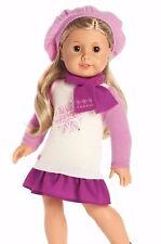 Genuine american girl doll snow bon de vous voir tenue cozy winter set