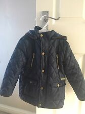 Boys Mayoral Navy Coat, Size 4 Years