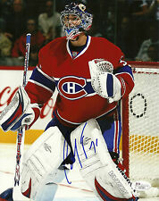 Carey Price Hand Signed 8x10 Photo Montreal Canadiens JSA #H41991 NHL