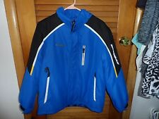 unisex kids  blue and black 3 in 1 jacket size L (14-16) from Zero Xposure