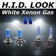 H7 H9 100w White Xenon HID Look High Low Fog Beam Headlight Bulb Pack