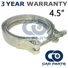 "V-BAND OUTER CLAMP STAINLESS STEEL EXHAUST TURBO HOSE RADIATOR 4.5"" 114mm"