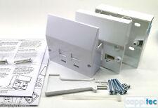Bt Openreach Tipo nte5 Master teléfono Socket Y vdsl2/adsl Placa Frontal Filtro Kit un