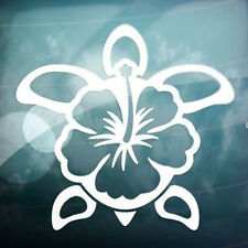 Flower Turtle Car Window Truck Auto Laptop Wall Home Vinyl Sticker Decor Gift