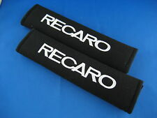 2pcs RECARO Embroidered Seat Belt Shoulder Cover Pads
